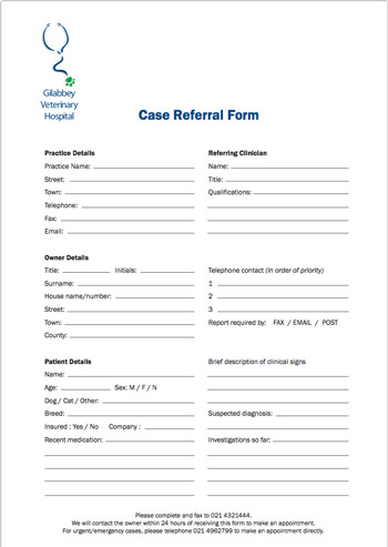 Case Referral Form